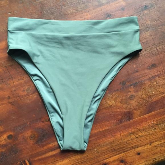 08faee9c6a8 Aerie High Cut Cheeky Bikini Bottoms NWT